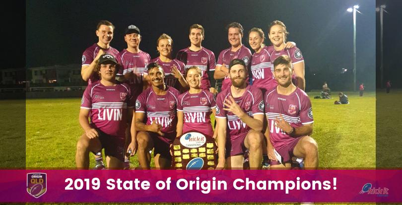 2019 Kick It Origin Queensland Maroons.