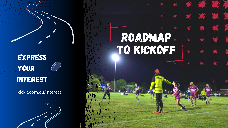 Roadmap Kickit Touch Football