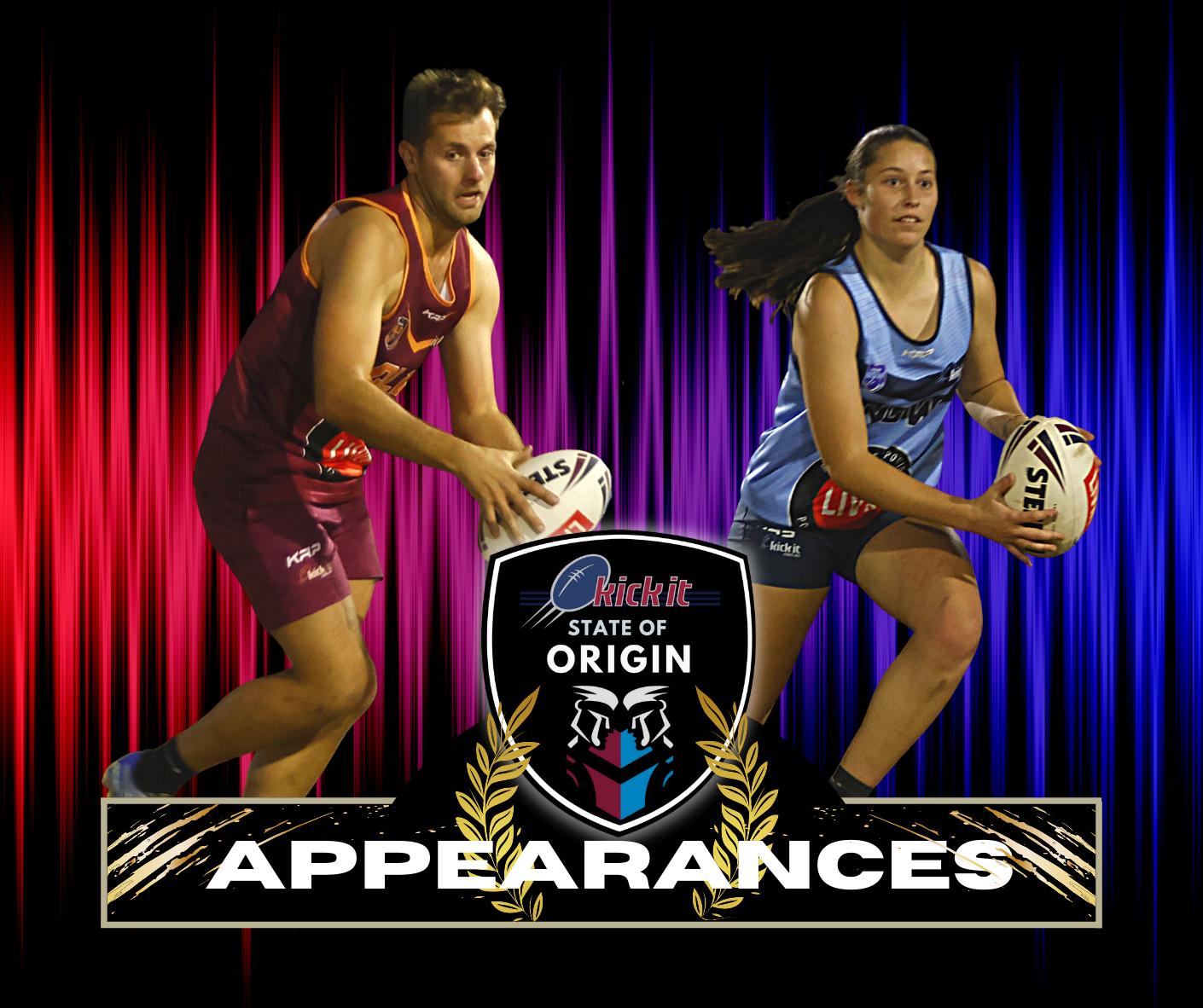 State of Origin Appearances